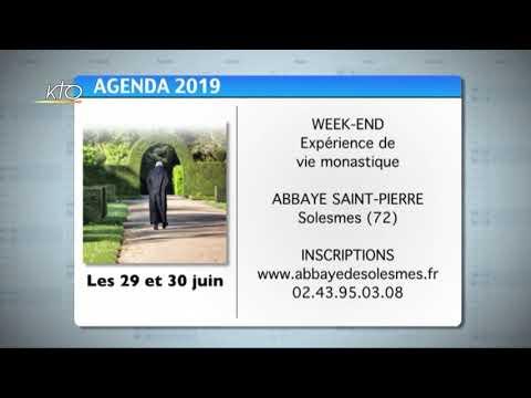 Agenda du 24 juin 2019