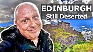 Exploring Edinburgh After Lockdown: Edinburgh Still Deserted - RogVLOG60