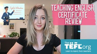 TEFL Online Course Review and What To Expect