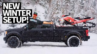 Ken Block's NEW 2020 Ski-Doo Summit X Expert Sled, Dualie Ice Donuts, and Glacier Glass Drinks!