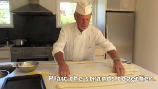 How to make Zopf - a Swiss Plaited Bread