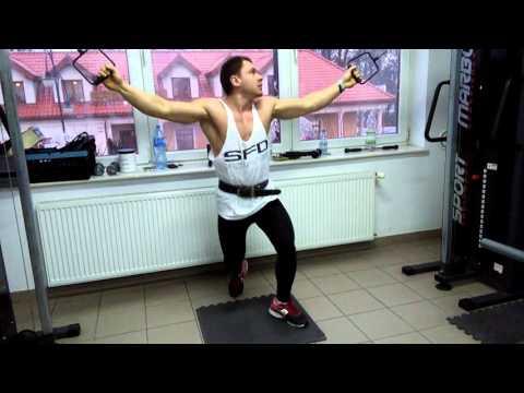 Ćwiczenia w domu dla pomp mięśniowych