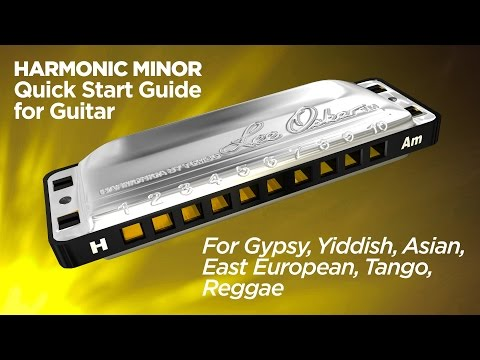 Harmonic Minor Quick Start For Guitar