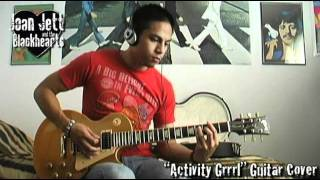 Joan Jett - Activity Grrrl guitar cover