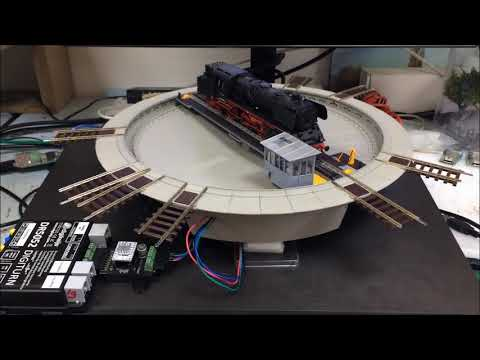 DR5052 STEP running a Stepper-converted ROCO® H0 turntable