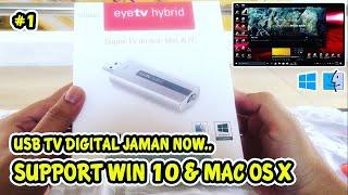 TV Tuner Digital Usb Elgato eyeTV Hybrid WIN 10 [UNBOXING]