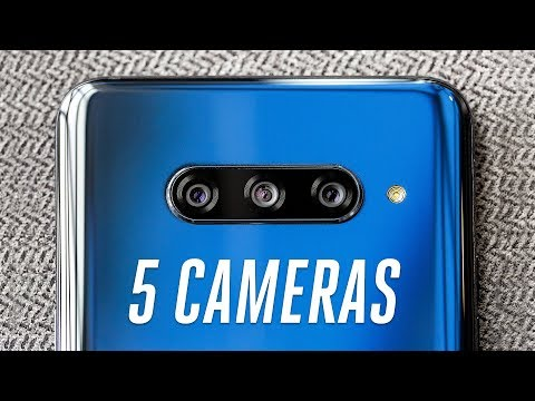LG's V40 ThinQ: a five-camera upgrade