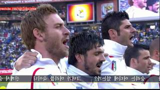 Italy National Anthem (2010 World Cup)