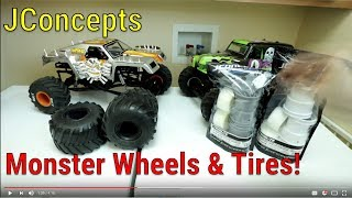 JConcepts Tribute Wheels & Firestorm Tires - Unboxing