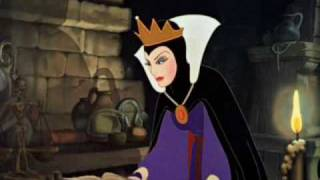 Snow White - The Jealous Queen Becomes An Evil Witch