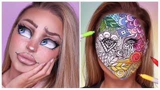 2019 Trending Incredible Face Art Painting Makeup