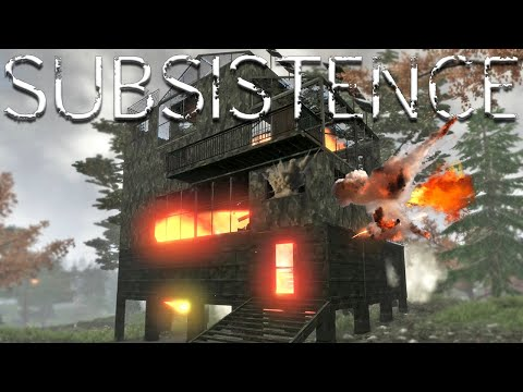 Blowing Up The Enemies Massive Fortress - EP12 | Subsistence
