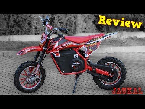 JACKAL 1000W 36V Electric Dirt Cross Bike - Full REVIEW