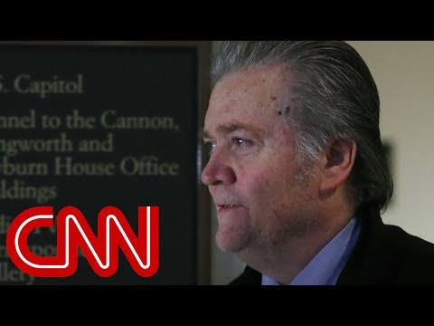 Axios: Bannon had a 'slip-up' in House hearing