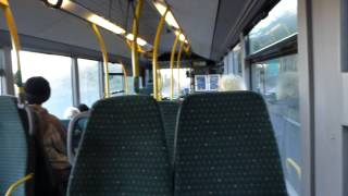 preview picture of video 'Inside a Route 724 Green Line Bus Near Hertford 2 January 2015'