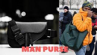 The Legitimate Rise Of The Man Purse
