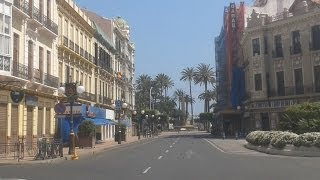 preview picture of video 'Melilla una vuelta por el centro'