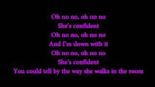 Justin Bieber - Confident Ft. Chance The Rapper (Lyrics On Screen)