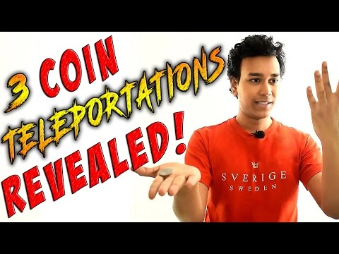Learn 3 Amazing Coin Tricks!