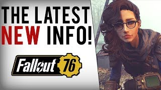 FALLOUT 76 NEW INFO! Next Reveal, Mods Not Priority, Beta Release, Trading, Companions & More!