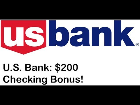 U.S. Bank Checking Promotion: $200 Bonus