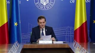12/23/19 Declarații susținute de premierul Ludovic Orban la începutul ședinței de guvern