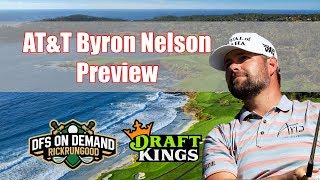 AT&T Byron Nelson Preview & Picks 2019 - DraftKings