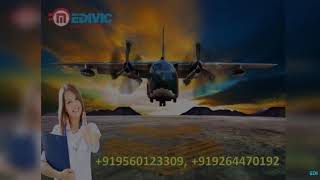 Take Emergency Patient Transfer Air Ambulance in Kolkata by Medivic