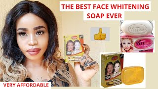 THE BEST FACIAL WHITENING SOAP EVER, Veet Gold & How To Use it
