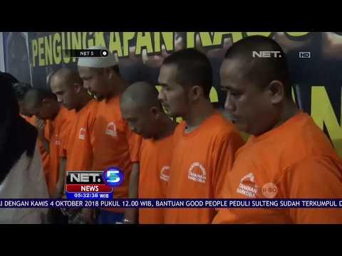 Polisi Tangkap 12 Pengedar Narkoba di Bandung - NET 5