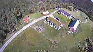 First time ever flying FPV Drone after practising in Liftoff.