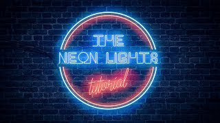 Realistic Neon Light Effect in Photoshop