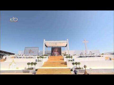 Messe de la Journée Mondiale de la Jeunesse célébrée par le pape François