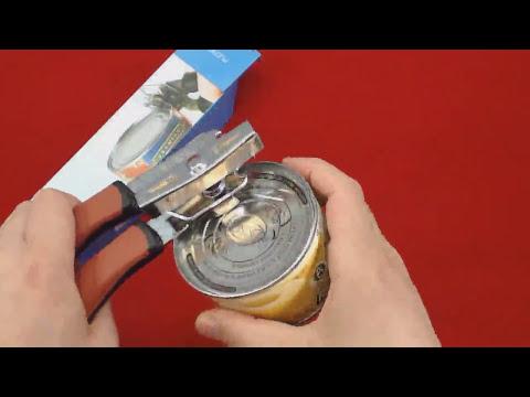 Abrelatas de calidad, PLEMO Abrebotellas de Acero Inoxidable Destapador y Abrelatas Multifuncional U