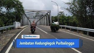 Jembatan Kedunglegok di Purbalingga Siap Diresmikan