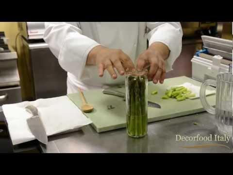 Asparagi sbianchiti - Vasi per cottura sottovuoto
