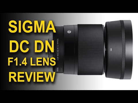 Sigma 30mm F1.4 DC DN Lens for Sony APSC E mount NEX 7,  a6000 and a6300 Review and Test