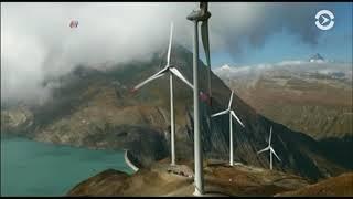 Морская ветряная ферма у берегов Шотландии