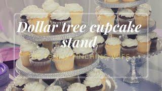 Dollar Tree cupcake stand