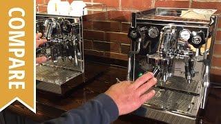 Compare: ECM Technika IV and ECM Mechanika Espresso Machines