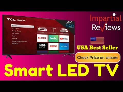 Smart TV 2019 | TCL 50S425 50 inch 4K Smart LED Roku TV (2019) | Best 4K Smart TV