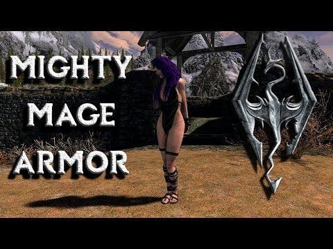 SKYRIM CONSOLE MODS - SEXY FEMALE ARMOR MOD!!! HOT SKYRIM