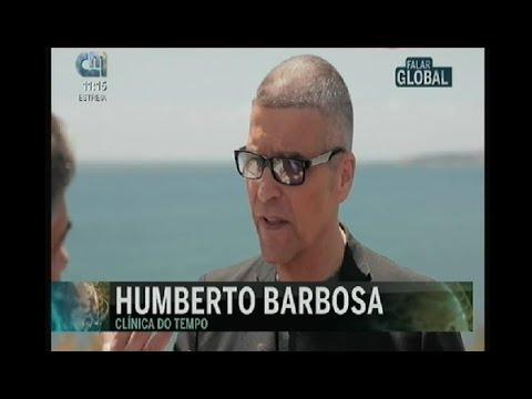 """Participação do Dr. Humberto Barbosa e do Dr. Tomás Barbosa, no programa """"Falar Global"""" da CMTV."""