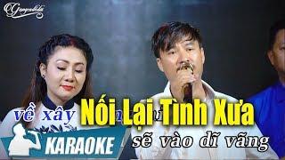 Nối Lại Tình Xưa Karaoke Song Ca - Quang Lập Thúy Hà - Karaoke Nhạc Vàng Song Ca