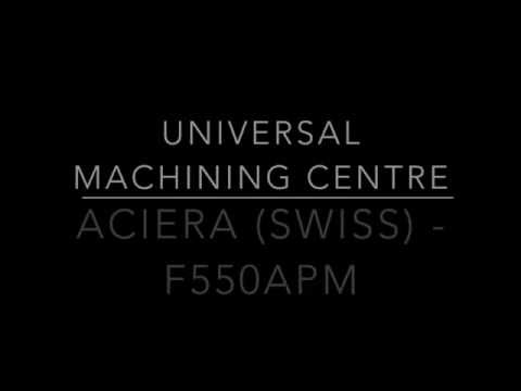 Aciera CNC Milling Machine