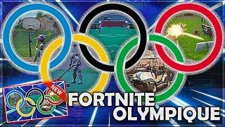 *NEW* JEUX OLYMPIQUES sur FORTNITE BATTLE ROYALE !!