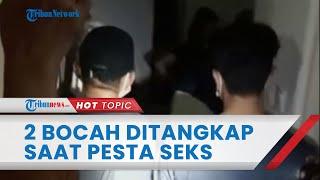 2 Remaja Ditangkap saat Pesta Seks Bersama 4 Wanita di Hotel, Ternyata Pakai Uang dari Hasil Begal
