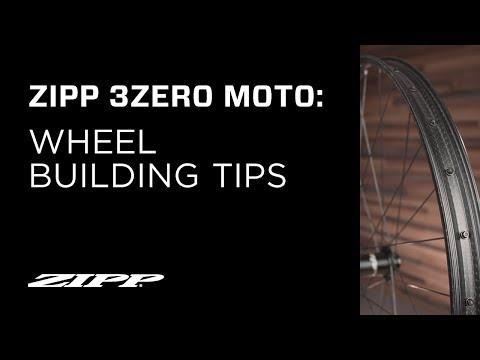 ZIPP: 3ZERO MOTO Wheel Building Tips
