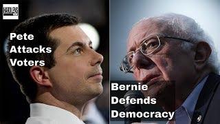 Trouble In Nevada, DNC Worried About Sanders, Buttigieg Smears Progressives, Jailin Medical Debtors