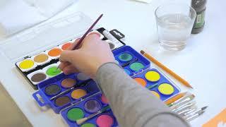 Краски акварельные художественные KOH-I-NOOR, 12 цветов, кроющие, без кисти